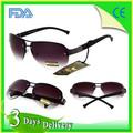 202 polarizadas conductor hombres de lente de la prescripción gafas de sol de los vidrios de doble puente