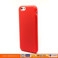 Silicone Mobile Phone Protective Back Case for Iphone 6 Plus shell Color random