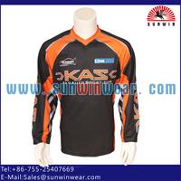 custom blank motorcycle jersey wear