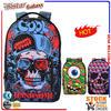 BBP302 2014 Latest Zombie head school bags trendy backpack for teenagers