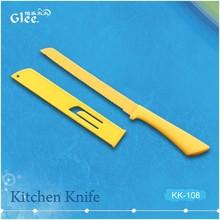 8''Non-stick bread knife with sheath