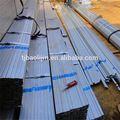 10 * 20 - 50 * 100 mmHot galvanizado en ERW tubo ( BS estándar ) tianjin fábrica de la alta calidad