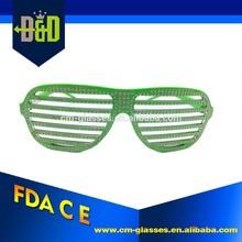 Diamond-studded Shutter Blinds Sunglasses Party Shades Glasses Toy Eyewear