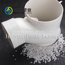 100% virgin pvc granules plastic pvc pipe fitting