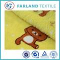 la souris de dessin animé mignon imprimé coral fleece tissu pour tapis de soie persan lisse et épaisse