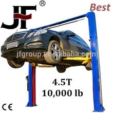 Hot Sale china qingdao mutrade 2 leg 2 floor simple car parking lift