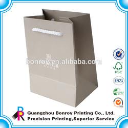 High quality craft folding bags shopping paper bag