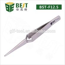 BEST-F12.5 Stainless steel smart tweezers eyelash extension tweezers