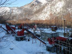 Shanghai DongMeng granite crushing and screening plant for sale