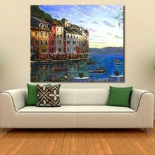 Home goods modern scenery pictures of oil painting