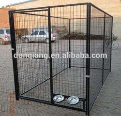 welded mesh style big metal dog kennel