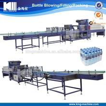 Plastic Glass PET Bottle PE Film Shrink Packing Machine price cost