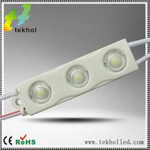 2014 Hot Sale!!! Epistar led module injection with lens 2835 1.2w light emitting led