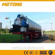 Bitumne transport truck trailer,car transport semi truck trailer,bitumen tanker