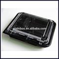 Dispositivos medicos negro para llevar bento box para el almuerzo de comidas