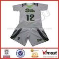 número e futebol jersey nome personalizado sublimação de uniformes de futebol