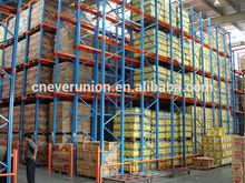 Warehouse storage Q235b steel drive in pallet racking
