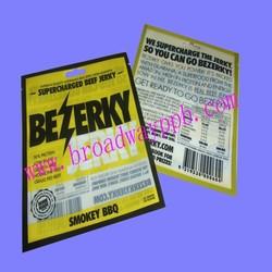 FDA grade 3 side heat seal plastic bag for packaging chicken essence