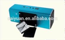 Mini Aluminium Casing speaker Series soundking speaker with alarm clock