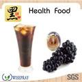 bloco de açúcar preto natural de semente de uva extrato de ervas naturais extractos de fruta orgânica pó