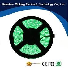 LED strip light SMD 5050 single color green ip65 waterproof DC12V 60LEDs/m 72w