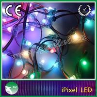 12mm led pixel string light effects lighting ws2801