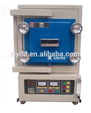 1700.C lab Nitrogen gas atmosphere sintering muffle furnace manufacturer