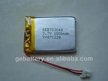 best rechargeable batteries with special size request 703048