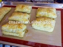 100% Food Grade Reusable FDA Grade Grill and Fiberglass Custom Non-Stick Silicon Baking Mat silicon mat