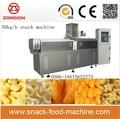Automático de milho inchado lanche linha de processamento/pequenos snacks máquina/lanche que faz a máquina