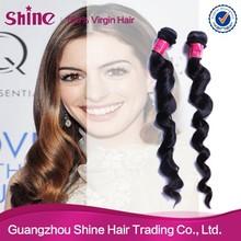 2014 hot sale brazilian loose deep wave weave hairstyles for black women