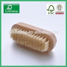 Wood Handle Bristle Fingernail Hand Foot Brush Manicure Brush Bath Shower Clean