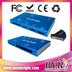 Mini Card Reader 7 slot all in one card reader M2/TF/SD/CF/MS