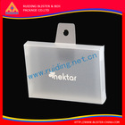 customer logo printed plain PET clear plastic boxes for jewelry