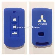 Mitsubishi Blue Car Smart Key Silicone Cover