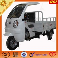 ABS canonpy with three wheel motorcycle cargo