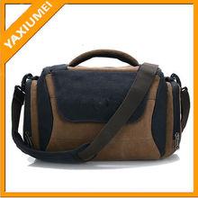 new design trendy practical canvas camera bag
