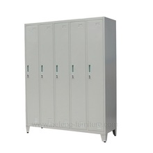 Cheap Grey Storage Cabinet in Dormitory