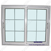 Individual aluminum sliding windows with top handles cheap price