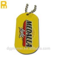 economy new design metal skeleton engraved dog tags with delicate and small design