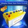 performance high starting battery DIN100MF-60038MF batterie auto