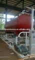 de gas natural de los tanques de almacenamiento