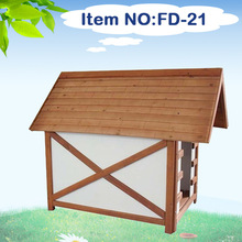 Large Wooden Dog House Timber Wood Pet House Kennel