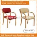 Cadeira de madeira curvada, para as crianças, empilhável, muitas cores, tb-1061