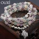 OUXI New arrival women's fashion wholesale beaded women bracelet T10029