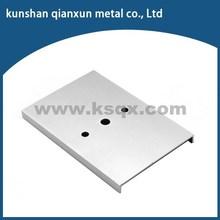 High precision nonstandard aluminum slide with cnc machines