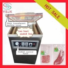 semi automatic vacuum packing machine meat