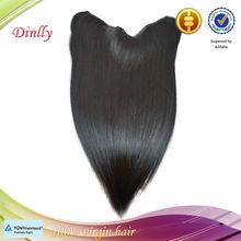 Virgin Brazilian Human Hair flip in hair extension type