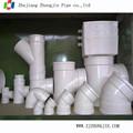 Pvc tubos accesorios para el agua de drenaje