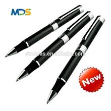 Top selling ball pens metal roller pen,carbon fiber pen for school,company,hotals
